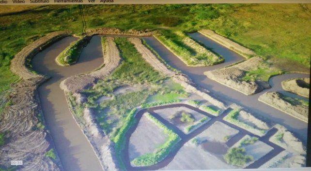 El polifacético Daniel Ilari inaugurará el predio ecológico el año proximo en las afueras de Venado Tuerto.