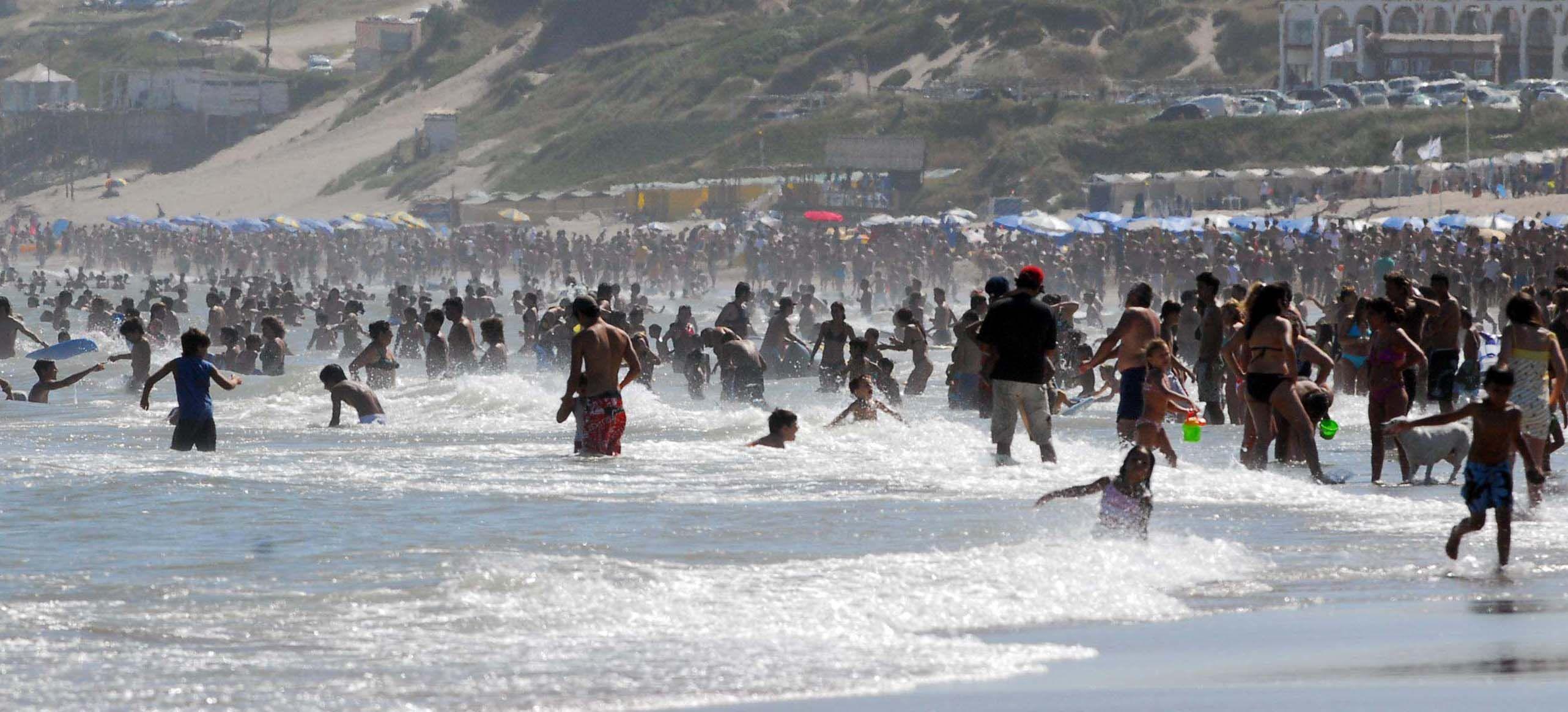 Costa atlántica: los turistas de este mes serán más que los de enero de 2007