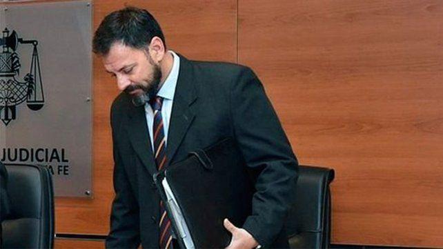 El juez Rodolfo Mingarini.