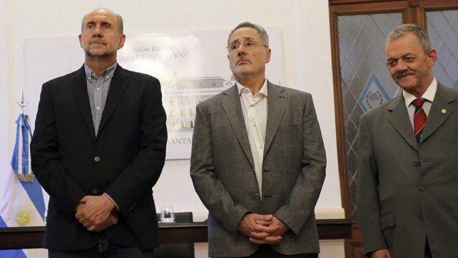 La oposición cuestiona la decisión que tomó el gobernador Omar Perotti en el amparo que presentó Marcelo Sain.