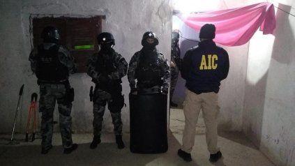 El operativo de la AIC se realizó en una vivienda de Garibaldi al 3800.