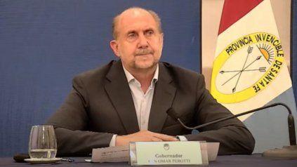 Al señor gobernador Omar Perotti