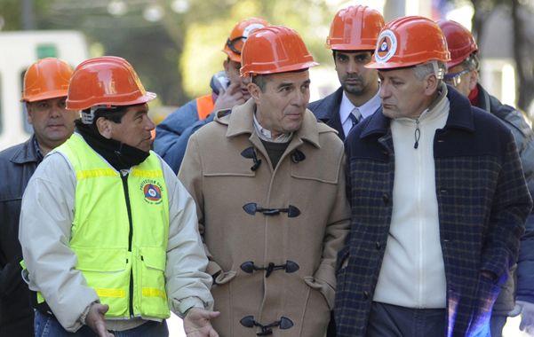 Camporini visitó en varias oportunidades la zona de la peor tragedia ocurrida en la historia de Rosario. (Foto: C. Mutti Lovera)