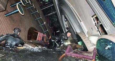 Un buzo revive el horror del naufragio del crucero Costa Concordia en Italia
