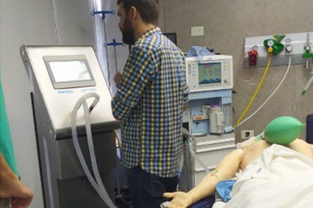 En Rosario preparan un prototipode respirador para la Covid-19