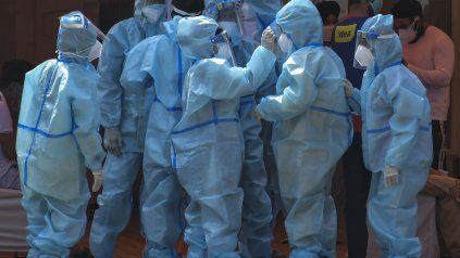 Rosario registró  77 muertes por coronavirus en lo que va del mes de mayo