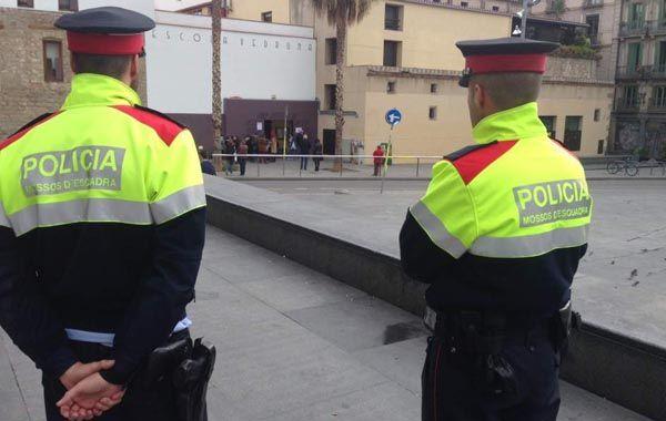 Una patrulla de los Mossos