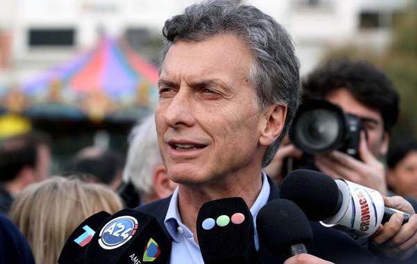 "En campaña. Macri criticó al oficialismo por ""no haber sabido administrar""."