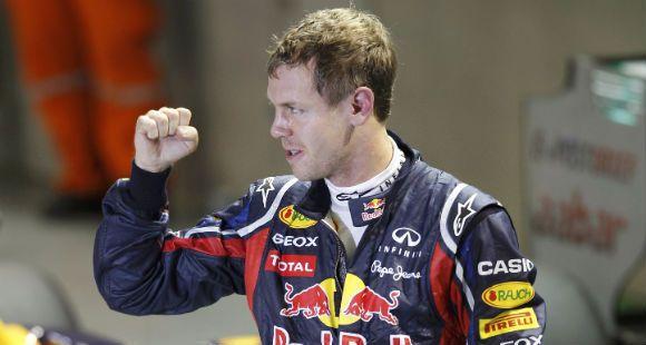 Vettel largará en la Pole de Singapur en busca del bicampeonato de Fórmula Uno.