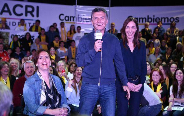Última semana. Macri y Vidal pidieron el voto para Cambiemos y criticaron las políticas del oficialismo.