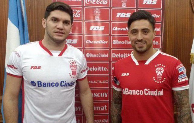 Confirmados. Coniglio y Pablo Álvarez fueron confirmados como refuerzos de Huracán.