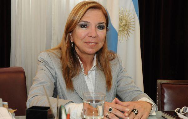 La senadora descartó que Cristina ordenara respaldar al vice.