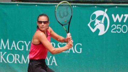 La tenista de Sunchales había derrotado en el último turno de la qualy a la estadounidense Victoria Duval.