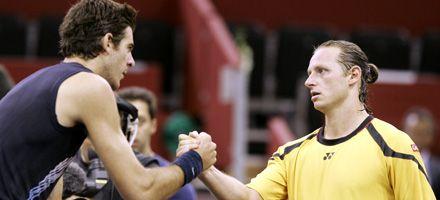 Del Potro y Nalbandian ganaron y se vuelven a enfrentar mañana en semifinales en Basilea