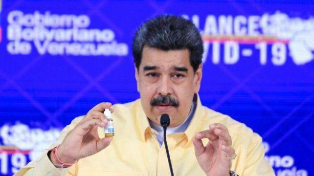 Las gotitas de Maduro para el Covid no son un medicamento homeopático