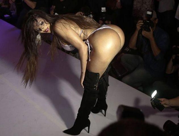 La modelo Suzy Cortez de 25 años fue consagrada Miss Bumbum Brasil 2015.