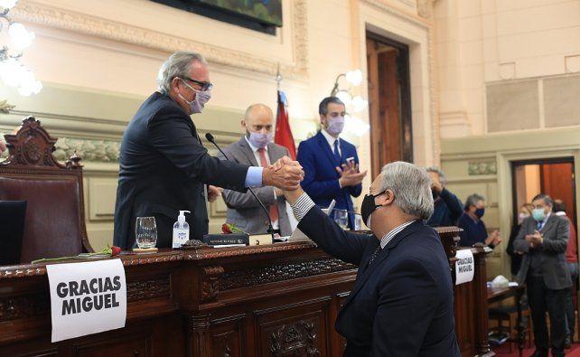 Pablo Farías es el nuevo jefe de Diputadas y Diputados.