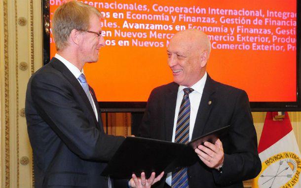 El embajador de Nueva Zelanda en Argentina