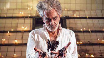Histriónico. El ex integrante de Los Abuelos de la Nada dijo que planea escribir una ópera tanguera.