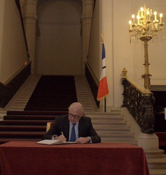 El ministro Timerman en la Cancillería francesa