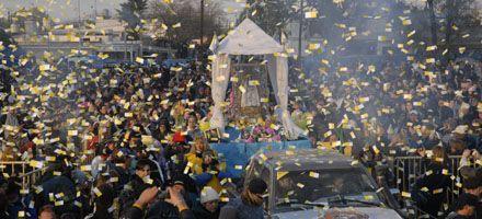 Cerca de 200 mil personas participaron en la XVI peregrinación a San Nicolás