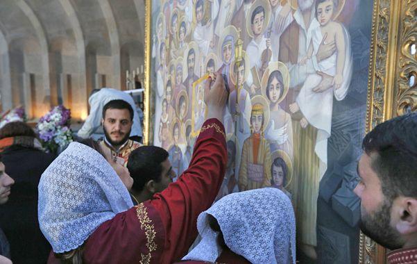 La Iglesia armenia canonizó al  1,5 millón de víctimas del genocidio