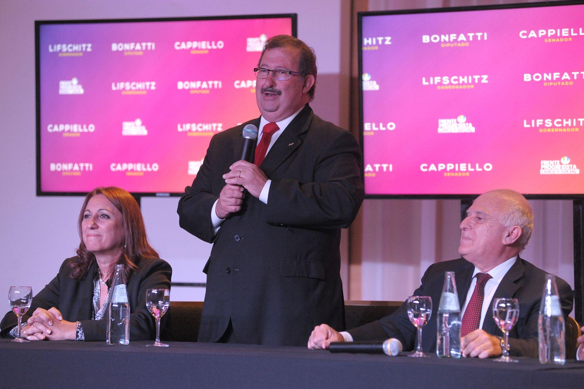 Cappiello cargó contra la candidata de Unión Pro