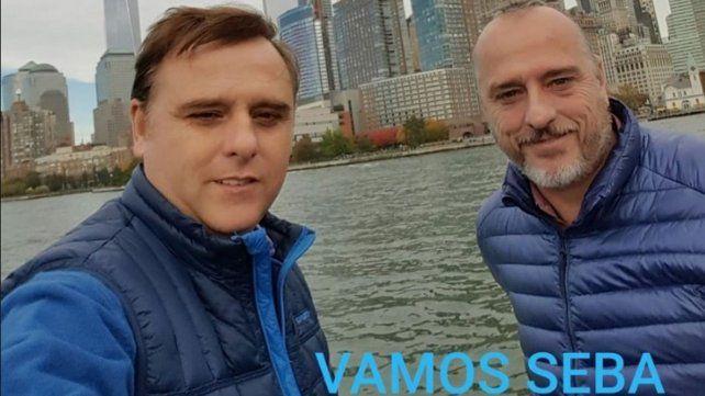 El 23 de septiembre Luis Erro había utilizado las redes sociales para darle fuerza a su hermano Sebastián quien había sido diagnosticado positivo de Coronavirus Covid-19