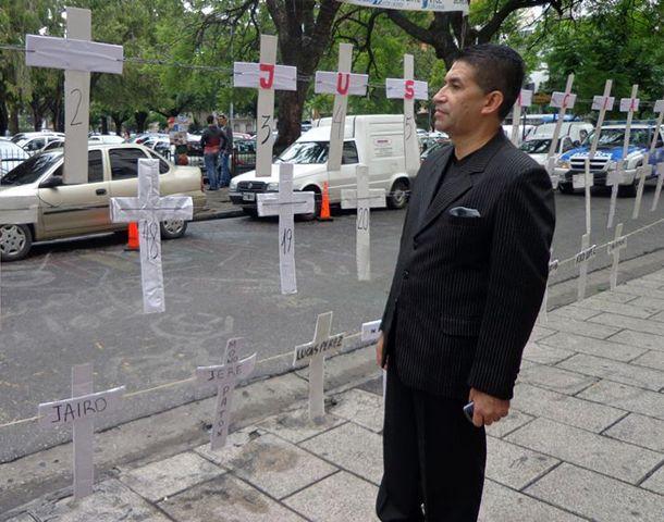 Eduardo Trasante advirtió sobre los niveles de violencia que sufre la ciudad.