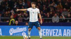 Walter Kannemann será baja en la Selección Argentina por dar positivo con coronavirus.