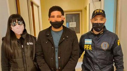 El presunto autor de las amenazas contra Romina Manguel fue detenido este lunes en El Talar, provincia de Buenos Aires.