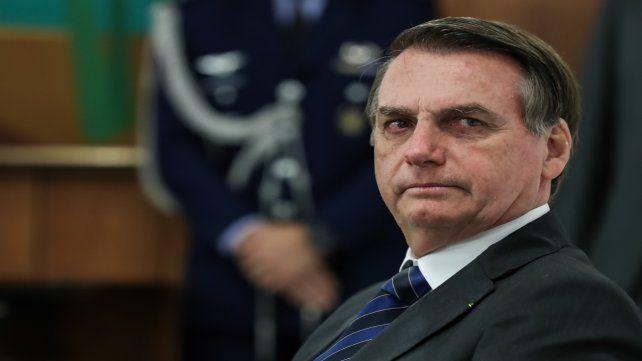 Bolsonaro. El presidente de Brasil fue duramente cuestionado.
