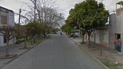 Sadi Carnot 6000, zona sur de Rosario, donde fue desbaratada una fiesta clandestina.