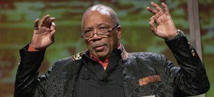 El músico y magnate del pop Quincy Jones cumple 75 años