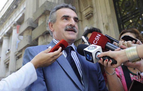 Agustín Rossi dijo que la decisión de Vera Barros no ayuda. (Foto: C. Mutti Lovera)