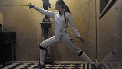 Valentina en la selección nacional es la única representante santafesina en el arma espada femenina a nivel internacional.