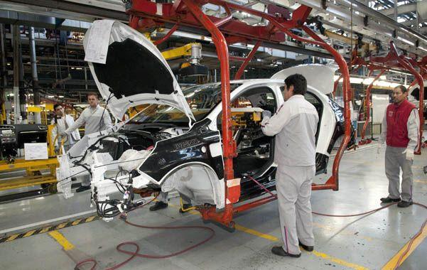 Repunte. La industria automotriz presentó subas de actividad en agosto