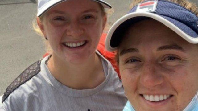 Avanzan en Australia la rosarina Podoroska y su compañera Francesca Jones.