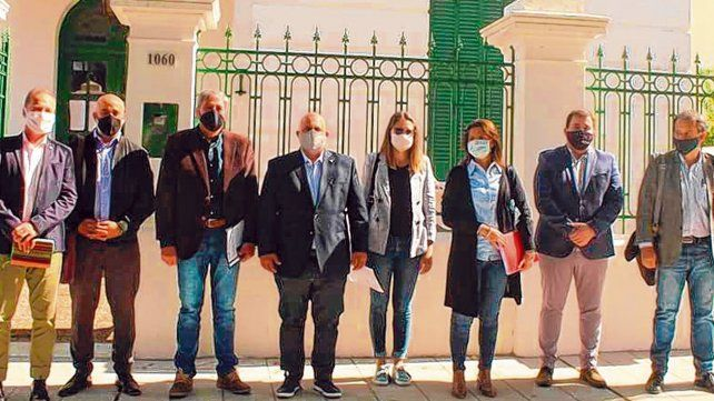 Control. La comisión de seguimiento de Vicentín se reunió en mayo con el juez del concurso en Reconquista.