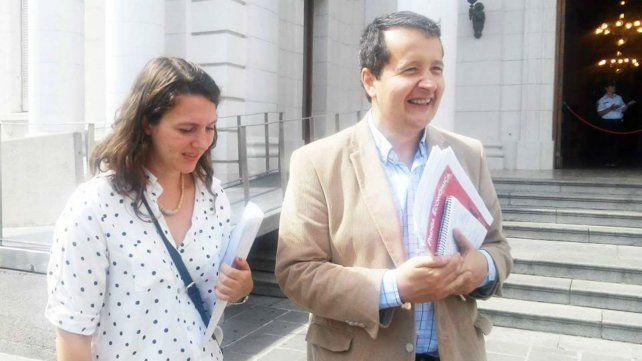Del Frade denunció penalmente a Macri