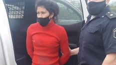 La acusada de rociar con alcohol y prender fuego a una mujer y su bebé, que murió este lunes.