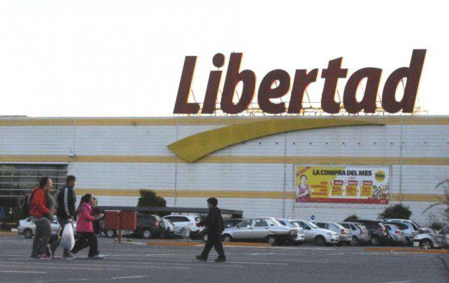 El hipermercado de la zona sur de Rosario.