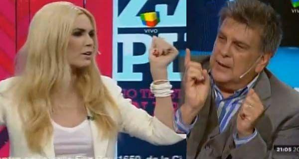 Viviana Canosa y Luis Ventura juntos contaron por qué se pelearon