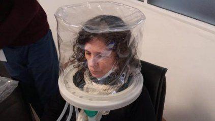 Coronavirus: cordobeses desarrollaron una cápsula de ventilación no invasiva