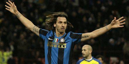 Fútbol italiano: el Inter se corta solo en la tabla con los goles de Ibrahimovic