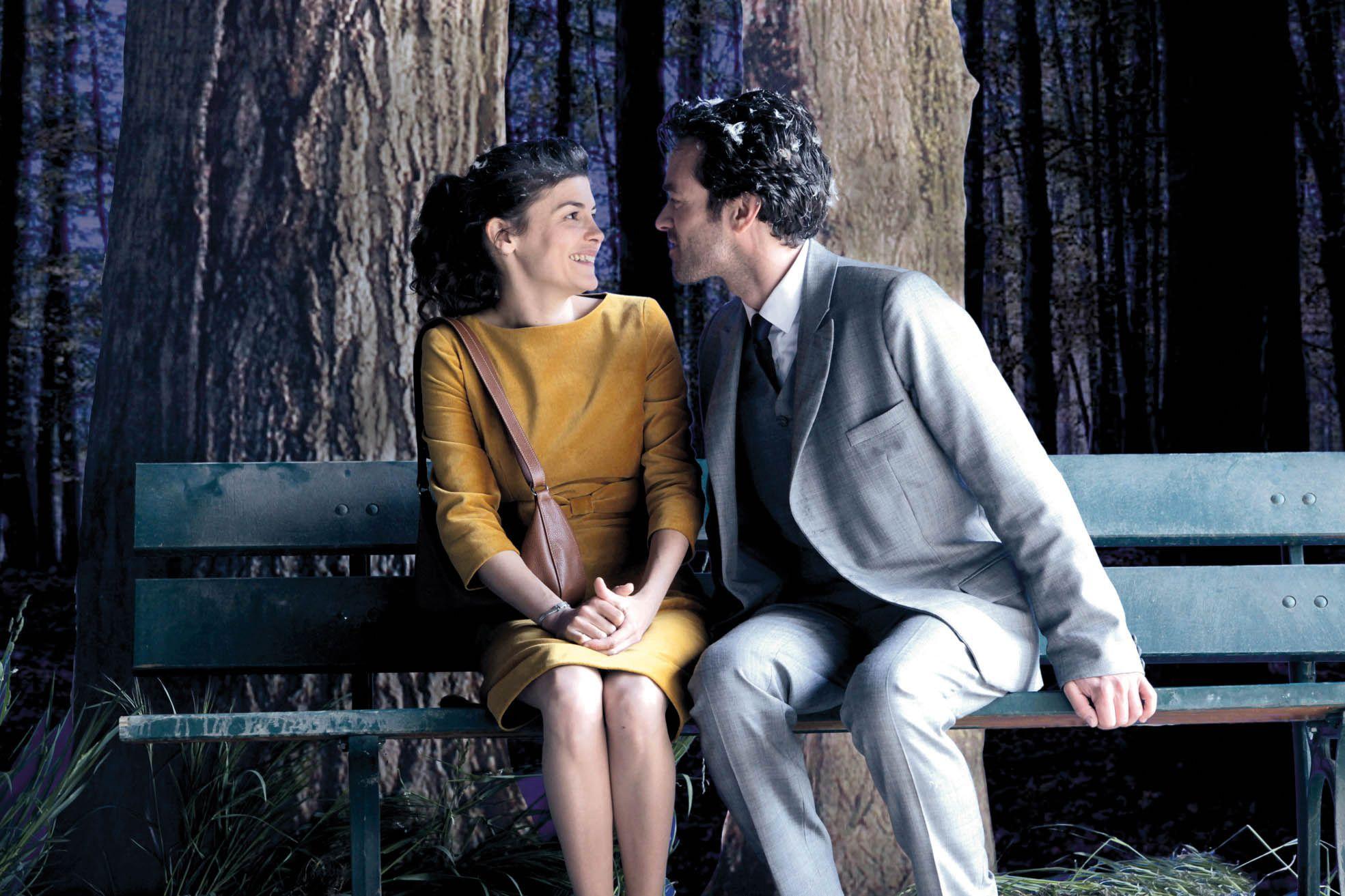 Enamorados. Audrey Tautou y Romain Duris interpretan a Chloe y Colin
