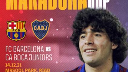 Homenaje a Diego: Boca y Barcelona jugarán la Maradona Cup