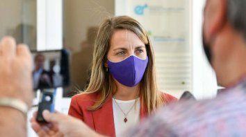 La vicegobernadora Laura Stratta dio a conocer el decreto firmado por el gobernador Gustavo Bordet por el que se amplía el financiamiento de la obra de desagües pluviales cuenca Ezpeleta, en la ciudad de Victoria.