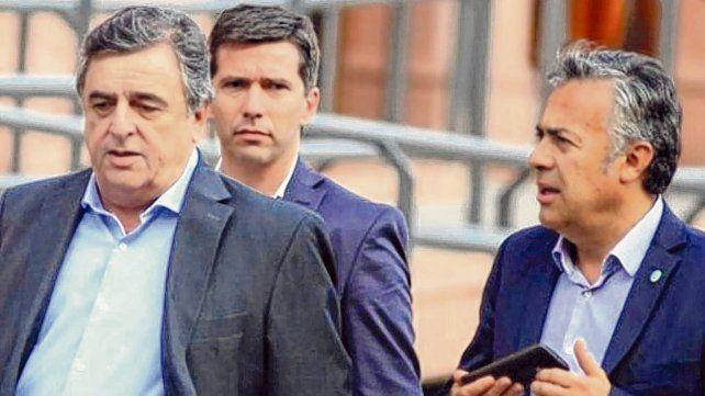 en tándem. Los radicales Negri y Cornejo señalaron los déficit del discurso presidencial.