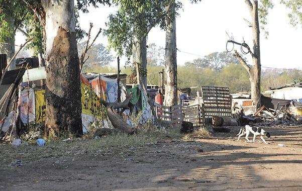 Rancherío. A un costado del Parque Regional Sur se levanta la villa La Paloma